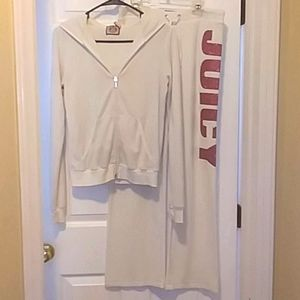 🔥NWOT Juicy Couture Velour Terry Cloth Track Suit